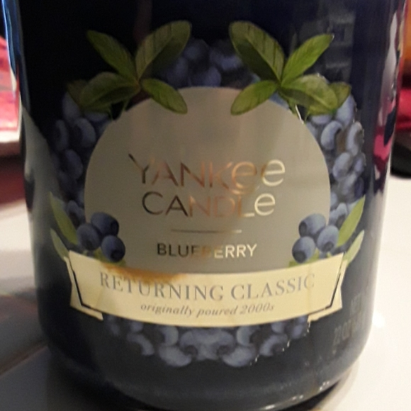 Yankee candle Blueberry candle